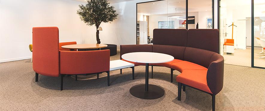 Fauteuil de travail idéal comme mobilier de bureau pour aménager les espaces de travail.