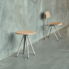 Pyramid coffee table de chez Hay : table basse en chêne massif