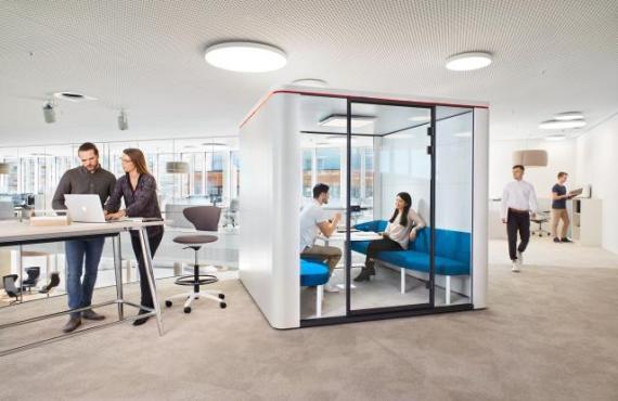Se:Cube - Sedus : Un espace cloisonné vecteur de productivité   Bedimo