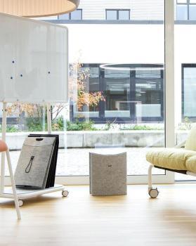 Travail flexible avec mobilier adapté