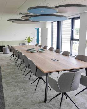 Ecosteryl : aménagement d'un espace réunion lounge   Bedimo